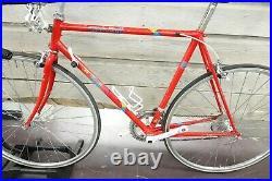 1980's Vintage Japanese Team Fuji Road Racing Bike Bicycle Sugino Ole 54cm