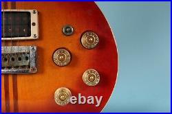 1980s Washburn Hawk Cherry Sunburst Vintage Japanese Electric Guitar