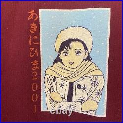 2001 Super Rare Early John Mayer Tour T-shirt / Japanese Animé Vintage Tee Small