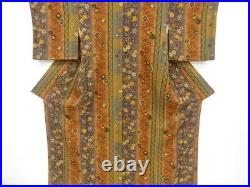 4865926 Japanese Kimono / Vintage Komon Kimono / Weeping Cherry Blossoms