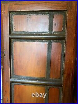 Antique Japanese red armoire wardrobe cabinet furniture