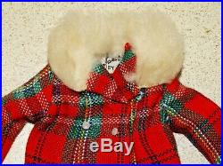 Barbie VINTAGE Complete JAPANESE EXCLUSIVE RED PLAID Outfit