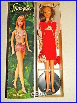 Barbie VINTAGE Japanese Exclusive DRESSED BOX FRANCIE Red CONCERT IN THE PARK