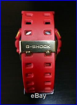 Casio G-SHOCK GD-100RF Limited Edition rare vintage Crazy color red Japanese