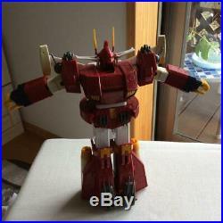 Combat Mecha Xabungle Japanese Toy Iron Gear Red Bandai Vintage Very Rare F/S