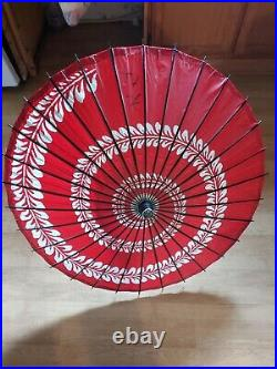 Dance Umbrella Japanese Vintage
