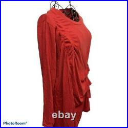 Gomme Red Dress M size fashion Goods Vintage from japanese K10082