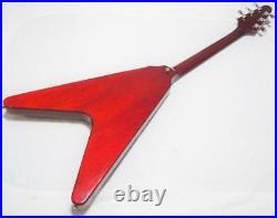 Greco FV-600 Flying V shape'78 Vintage Japanese Electric Guitar Made in Japan