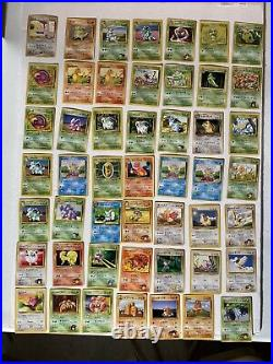 HUGE Original Pokemon Card Collection/Lot Vintage 529 Cards 72 Holo MUST SEE