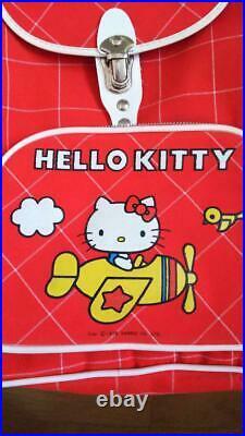 Hello Kitty backpack Red Japanese Sanrio 1976 Vintage Limited Rare Kawaii