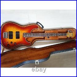 Ibanez rb924 vintage Japanese bass guitar, 1983, cherry burst