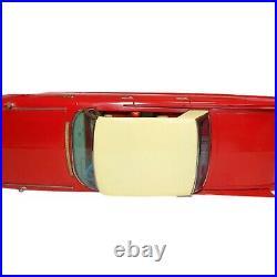 Ichiko Cadillac Red Friction 4 Door Hardtop Japanese Tin Minicar Rare Vintage