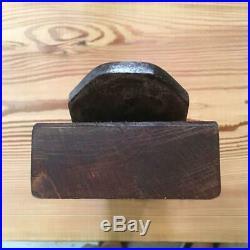 Japanese Carpenter Tool Kanna Hand Plane Vintage Haruo Sakata 70mm Miki Red Oak