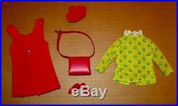 Japanese Exclusive Barbie Outfit Red Velvet Jumper Set