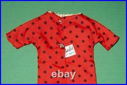 Japanese Exclusive Barbie Red Dress with Black Polka Dots #2618 #2626
