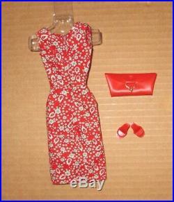 Japanese Exclusive Barbie Red Paisley Print Sheath Dress