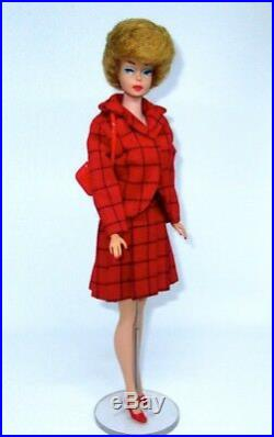 Japanese Exclusive Barbie Red and Black Suit