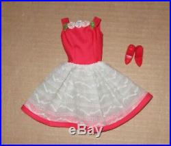 Japanese Exclusive Barbie Red and White Summer Dress