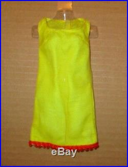 Japanese Exclusive Barbie Yellow Suit with Red Trim