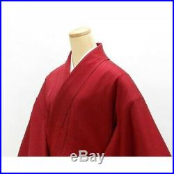 Japanese Kimono Houmongi Cherry blossom pigeon Visiting Dress Vintage s754