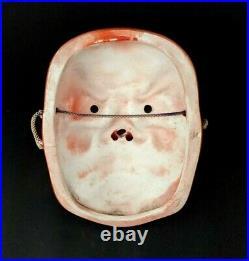 Japanese Tengu vintage mask vermilion color #588