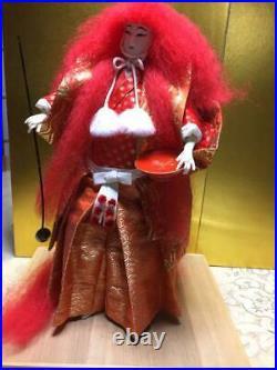 Japanese Traditional Antique Kabuki doll warrior Samurai Figure 18 Vintage