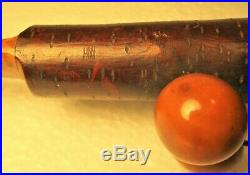 Japanese Vintage High Quality Carved Cherry Wood Figural Book Mark-page Turner