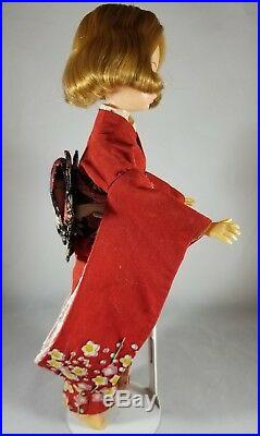 Japanese exclusive Scarlet Ideal Tammy Doll Friend rare red kimono Barbie