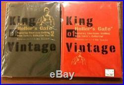KING OF VINTAGE Vol. 1 Vol. 3 Book Heller's Cafe Rin Tanaka My Freedamn Used Japan