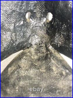 Karasu Tengu Mask Japanese Noh Crow Goblin Demon Vintage