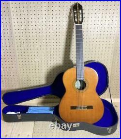 Kasuga Gakki G130 1970 Classical Guitar Cherry Blossom Japanese Vintage with Case