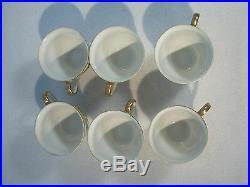 Kutani Dragonware Tea Set Japanese Moriage Sunray China Vtg Gold Red Set of 15