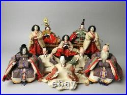 LOT Vintage Japanese Hina Samurai doll set Early Showa era 70-80 years 10 dolls
