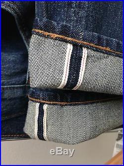 Levi's Vintage Clothing Red Big E LVC Selvage Japanese Denim Jeans Levis 31x34