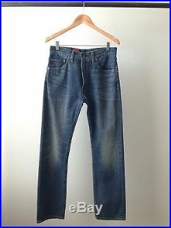 Levi's Vintage Clothing Red Big E LVC Selvage Japanese Denim Jeans Levis 32x32