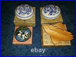 Lot of Vintage Japanese Bowls and Trinkets