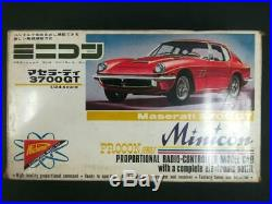 Maserati 3700GT Japanese RC Plastic Model Kits 124 Nichimo Minicon Vintage Mint
