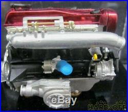 Nissan 1/12 scale car Model Red Engine Vintage Japanese Maker rare article