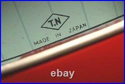 Nomura Toy Tin Jaguar E-type Red Japanese Showa Showa 1970s Vintage Used