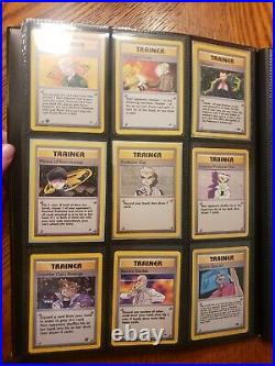 Old Vintage Pokemon Collection Lot Vintage Holos, Ereaders, Ex, and More