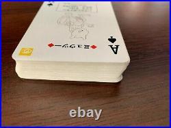 Pokemon Playing Cards Poker Deck Red Charizard 1996 Nintendo Rare Vintage