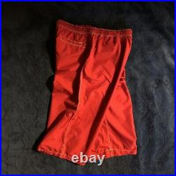 Prada sport Red pants M size fashion Goods Vintage from japanese K9656