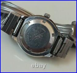 RARE SEIKO DIVERS AUTOMATIC LADIES REF 2205-0640 HI BEAT JAPANESE WATCH Ca 1975
