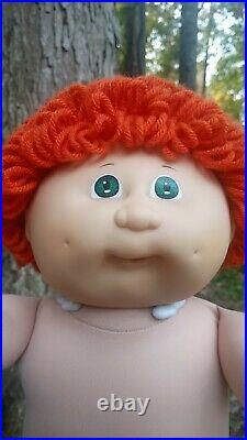 RARE Tsukuda Japanese Vintage Red Loop Cabbage Patch Kids Boy Doll Pacifier