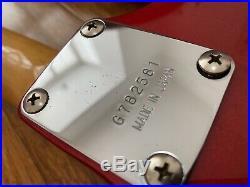 Rare Vintage 1978 Japanese Greco Supersounds Stratocaster Red Comp Fujigen Built