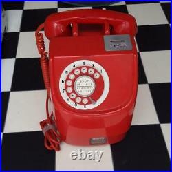 Rare Vintage Retro Japanese Pub RED Phone 10 Yen Pink Telephone Payphone