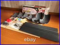 Rare Vintage unused SIZZLER MATTEL Red Line BIG RACE Scramble Set Japanese Japan