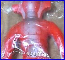 Red Baron Yonezawa japanese vintage soft vinyl figurine tokusatu character 7I