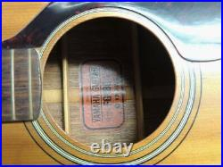 Red Label! Yamaha FG-180 Japanese Musical Instrument Acoustic Guitar Vintage Old