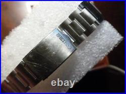 Seiko Chronograph 6139 6002 Automatic 1970s Vintage Japanese Sports Watch. Box